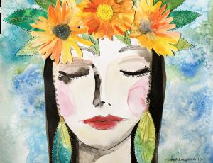 calendula lady